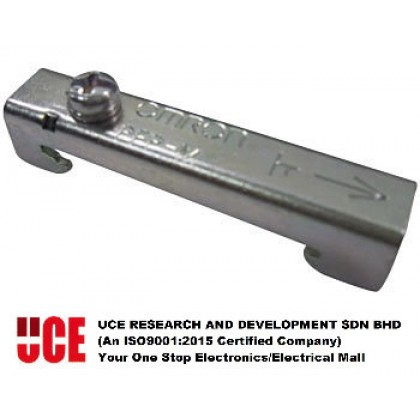 OMRON PF083A-E G2R SERIES RELAY SOCKETS & FIXINGS DIN RAIL STOP PLATE / END PLATE, PFP-M