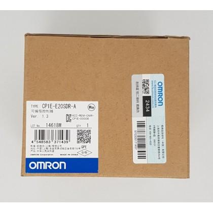OMRON 20I/O CP1E-E20SDR-A PLC PROGRAMMABLE LOGIC CONTROLLER